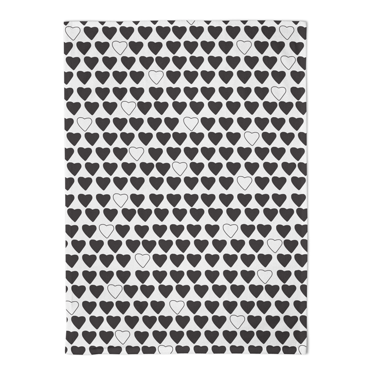 artisanal lifestyle sweets brand label and packaging black and white hearts cats